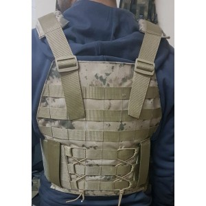 Jandarma Yeni Tip Hücum Yeleği HK33 G3 (Plakalıklı)