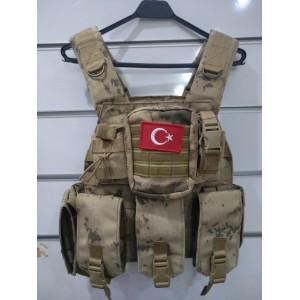 Jandarma Yeni Tip Mpt76 Hücum Yeleği (Plakalıklı)