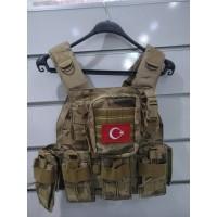 Jandarma Yeni Tip Hücum Yeleği  Mpt76 (Plakalıklı)