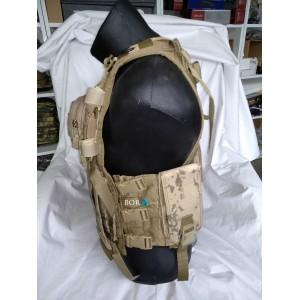 Jandarma YeniTip HK G3 Hücum Yeleği 5li  Göğüs Çantalı (Plakalıklı)