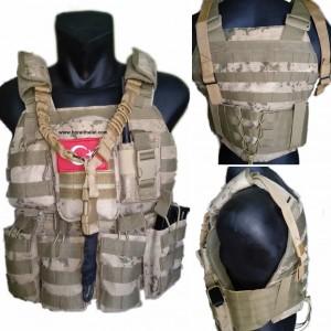 Jandarma Yeni Tip Hücum Yeleği HK33 MPT76 G3 AK47  (Plakalıklı)