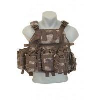 Özel Dikim Hücum Yeleği Özel Harekat Sig-HK33-Mpt-Ak47  (Plakalıklı)