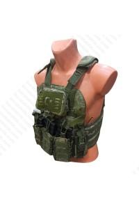 Özel Dikim Fırtına Hücum Yeleği Yeni Kamuflajlı HK33 MPT55  (Plakalıklı)