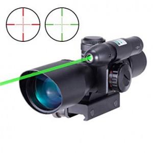 2.5-10x40 ER Yeşil Lazerli Tüfek Dürbünü
