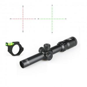 2.5-10x26 FFP Tüfek Dürbünü Bora