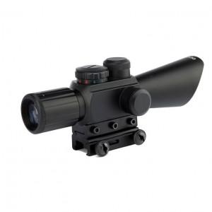 4X30 Lazerli Tüfek Dürbünü Çift Işıklı M7