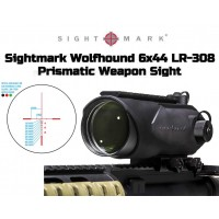 Wolfhound 6x44 LR-308 Prismatic Weapon Sight