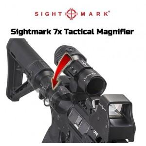 Sightmark 7x Tactical Magnifier Nişangah Waterproof IPX6