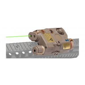 PEQ-15 ATPIAL (AN/PEQ-15) - Advanced Target Pointer/ Illuminator/ Aiming Green Laser