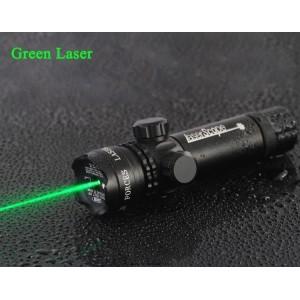 Ayarlanabilir Tüfek Lazeri  Şarjlı Yeşil  5km