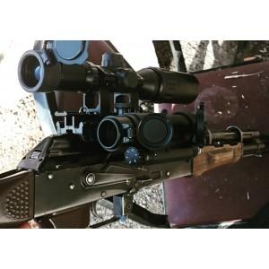 Keleş Dürbün Takma Aparatı 3 Raylı -AK47 Kalaşnikof