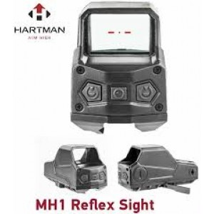 MH1 Hartman Sights The Ultimate Red Dot 2MOA Reflex Sight, NVD Compatible (Black)