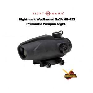 Wolfhound 3x24 HS-223 Prizmatik Red-Dot Nişangah