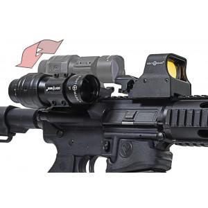 3x Tactical Magnifier Yana Yatan - Clamshell Yakınlaştırıcı