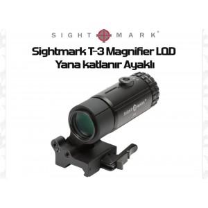 3x Tactical Magnifier Yana Yatan -  Yakınlaştırıcı