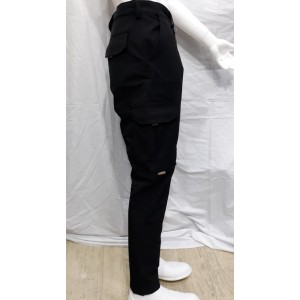 Taktik Pantolon Likralı Bora Siyah