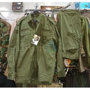 Haki Taktik Gömlek Pantolon Takım 729