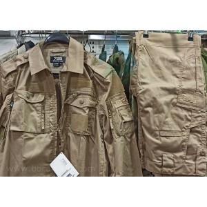 Krem Taktik Takım Gömlek-Pantolon