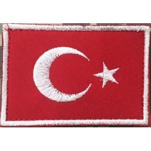 Türk Bayrağı Patch Bayrak
