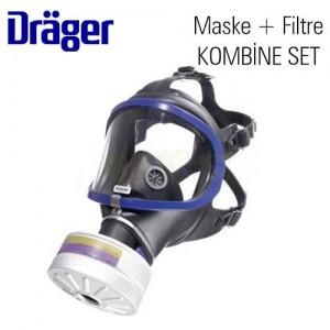 Drager Tam Yüz Maskesi X-plore 6300