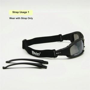 Daisy X7 Polarize Değişebilir Taktik Papatya Gözlük