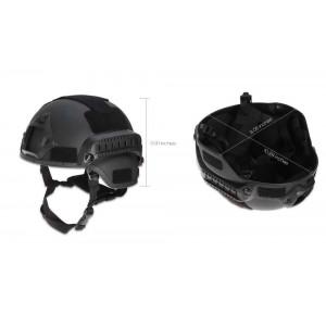 Airsoft Koruyucu Başlık Siyah Kask Yeni