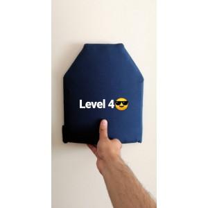 Balistik Plaka Level 4 Kevlar